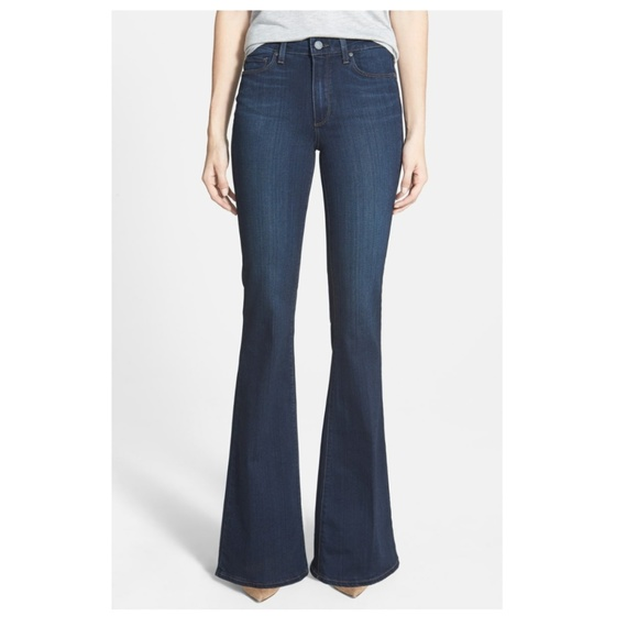 Paige Jeans Denim - Paige 'Bell Canyon' high rise flare jeans